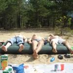 Отдых после спортивных мероприятий